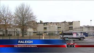 News video: Families Thankfiul For Shelter After Raleigh Apartment Fire